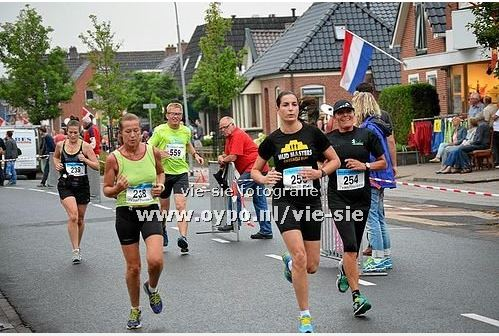 Finish 1e ronde in zicht.