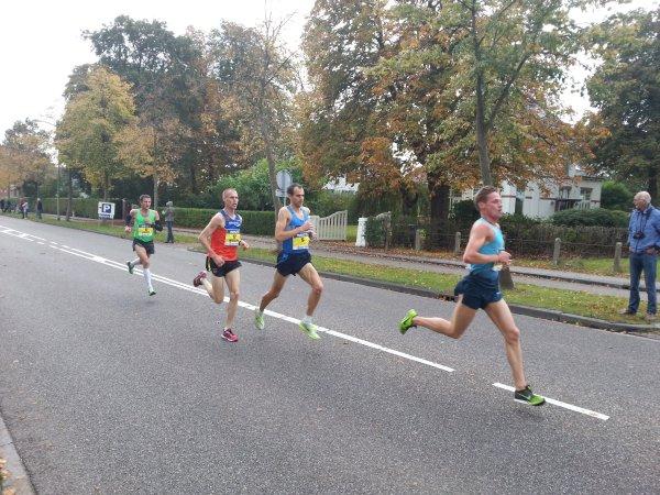 De beste Nederlanders: Tom Wiggers, Jesper van der Wielen, Gert-Jan Wassink vergezeld door Igor Geletiy uit de Oekraïne