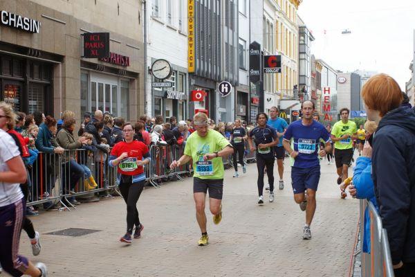400 meter voor de finish. Foto: Henk Landkroon