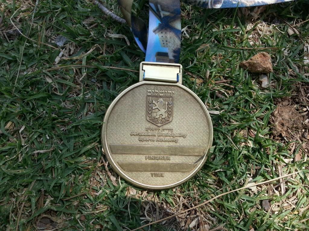 Achterkant van de medaille