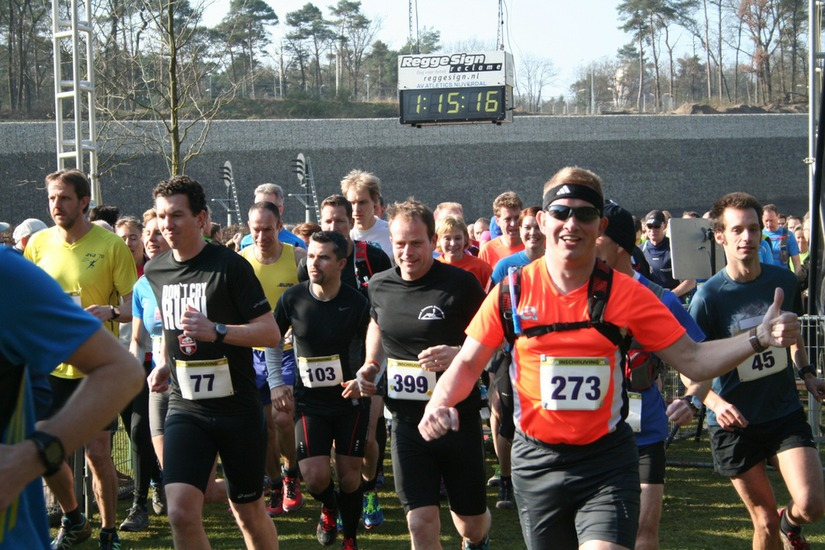 Bij de start. Foto: Berry Nieland