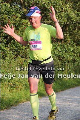 Na 13,5km. Foto: Feije Jan van der Meulen