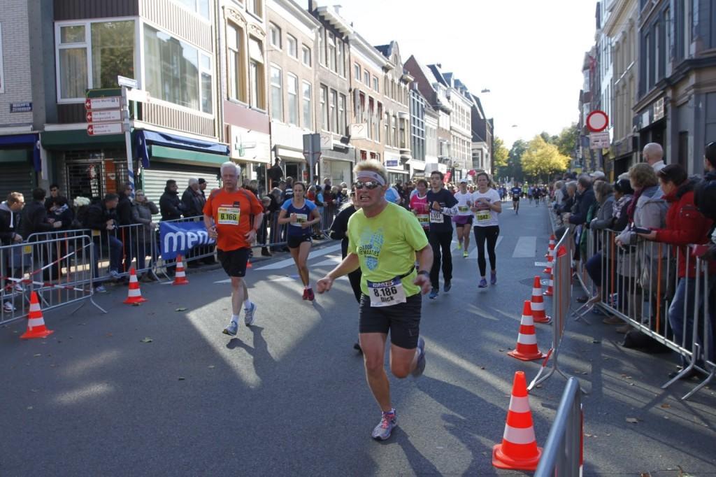 Nog iets meer dan 500 meter te gaan. Foto: Henk Landkroon