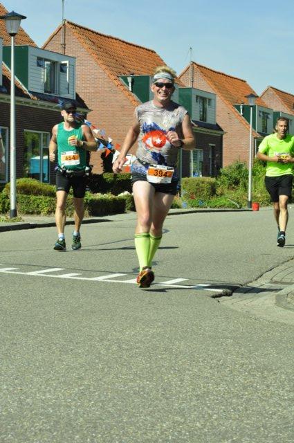 Na zo'n 44 kilometer. Foto: Martin de Jonge