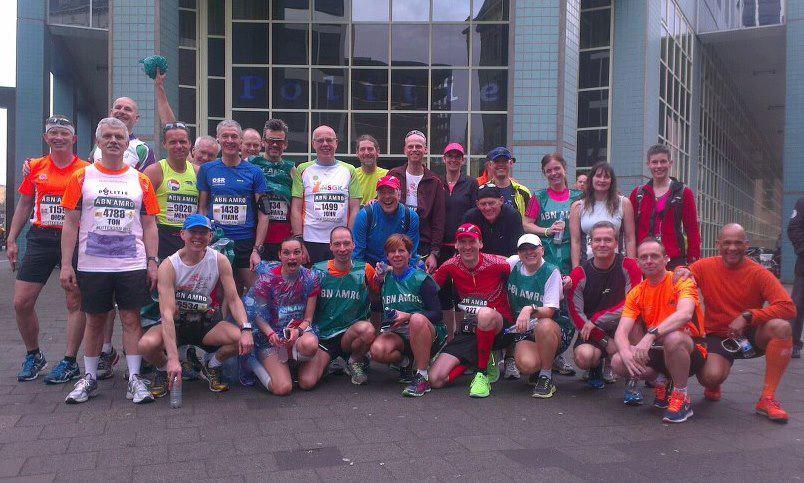 Mijn eerste (Rotterdam) marathonMy first (Rotterdam) marathon