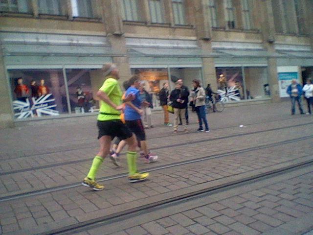 De finish in zicht. Foto: Michel Pluim
