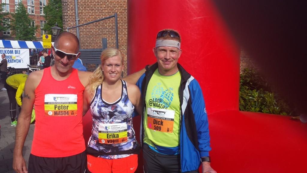 Met Erika Broekema en Peter Stokje