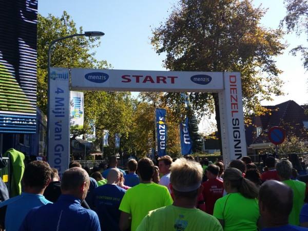 Start van de 4Mijl. Foto: Nico Swart