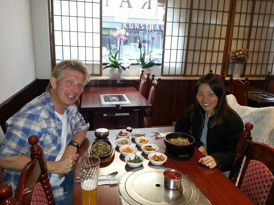 Eten bij Korea Haus