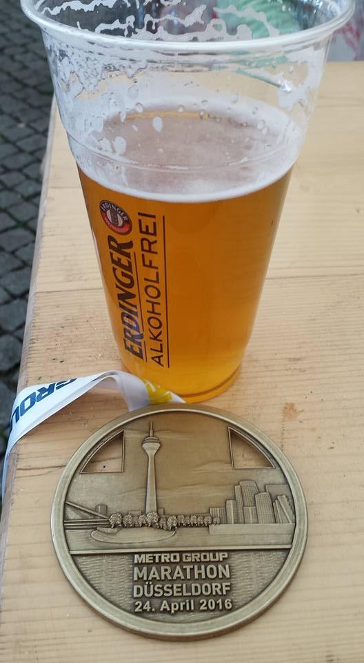 De medaille en het biertje