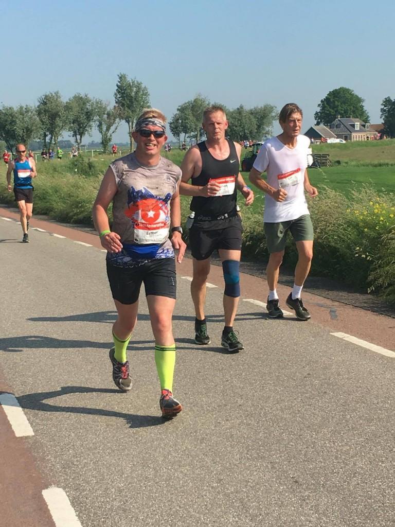 Na 28 kilometer. Foto: Bettina Hamming